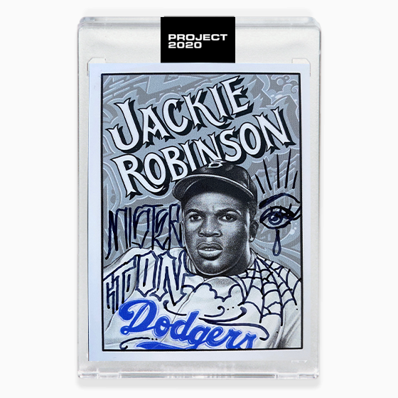JACKIE ROBINSON AP - HAND EMBELLISHED - SIGNATURE EDITION ONE - LIMITED TO 15
