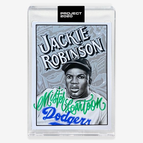 JACKIE ROBINSON - SIGNATURE EDITION ONE - GREEN - LIMITED TO 47
