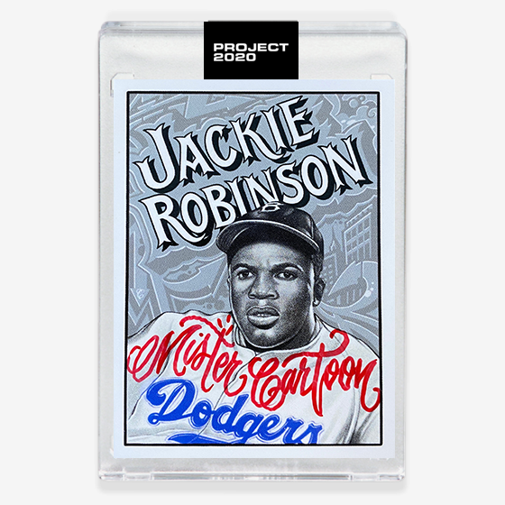 JACKIE ROBINSON - SIGNATURE EDITION ONE - CANDY RED - LIMITED TO 47
