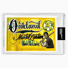 MARK MCGWIRE - SIGNATURE EDITION ONE - BLACK - LIMITED TO 25