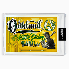 MARK MCGWIRE - SIGNATURE EDITION ONE - GREEN - LIMITED TO 25