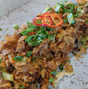 Kottu Roti - Chick'n or Jackfruit