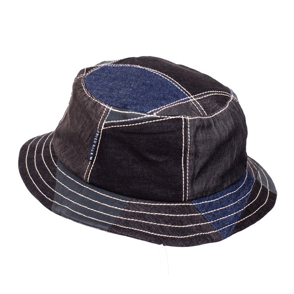 Fisherman Hat - Handcrafted Custom Patchwork Denim