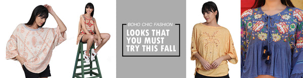 Boho Chic Fashion | Going Sauve In Style-4 Looks That You Must Try This Fall