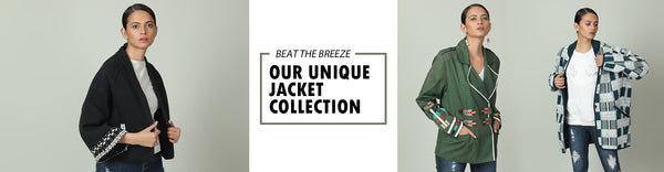 Beat the breeze with our unique jacket collection