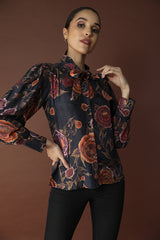 Striking Floral Shirt