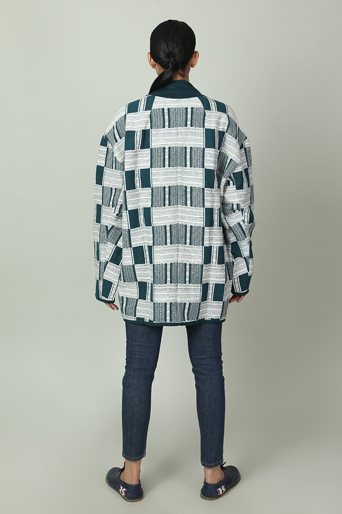 Jazzy Abstract Pattern Pullover
