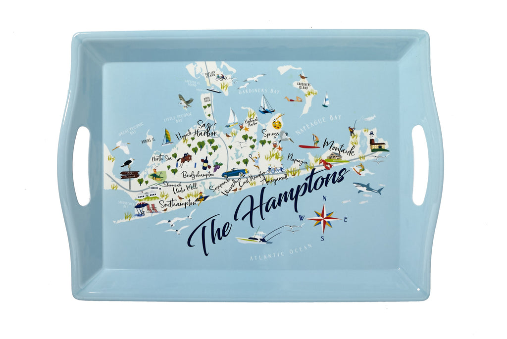 The Hamptons - 2-Handle Butler Tray