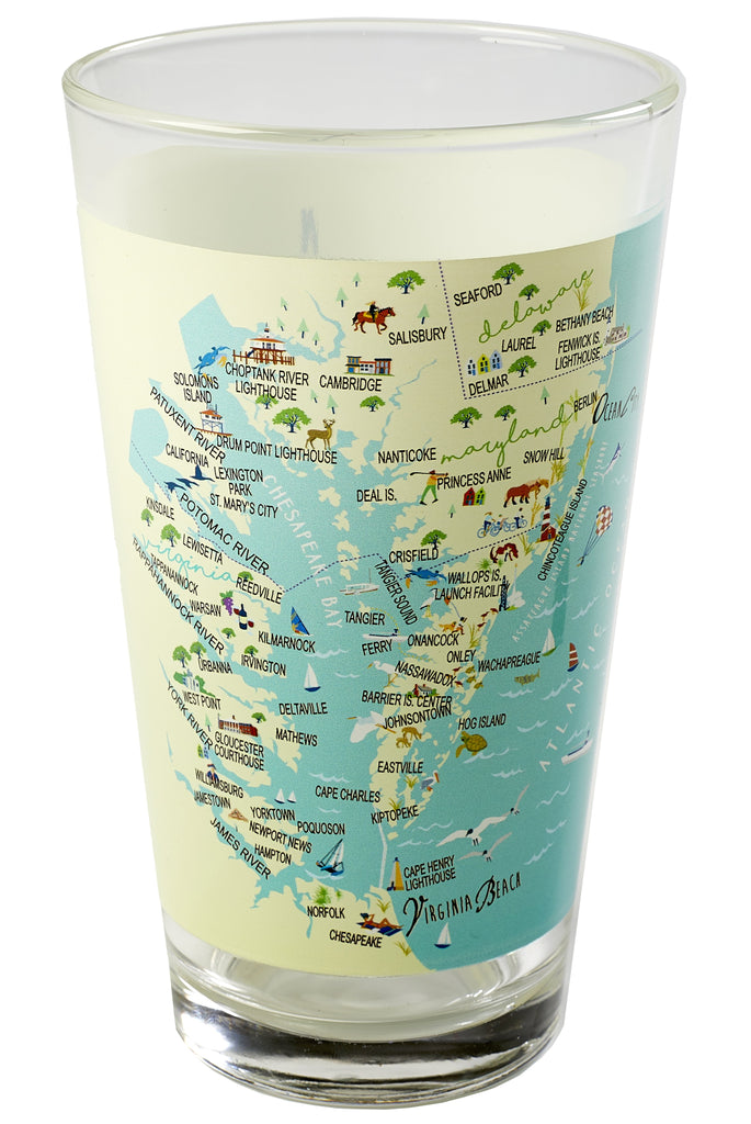 Lower Chesapeake - 16-oz. Pint Glass