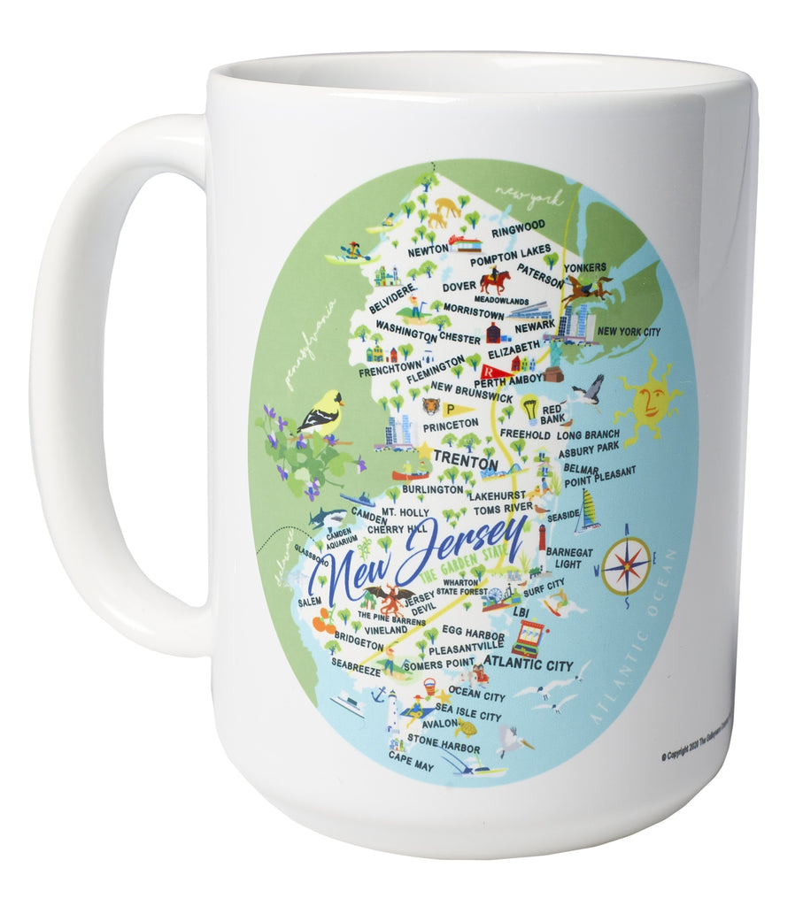 New Jersey - 15-oz. Ceramic Mug