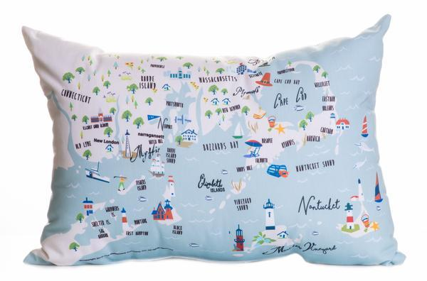 "Northern Shores - 14"" Lumbar Pillow"