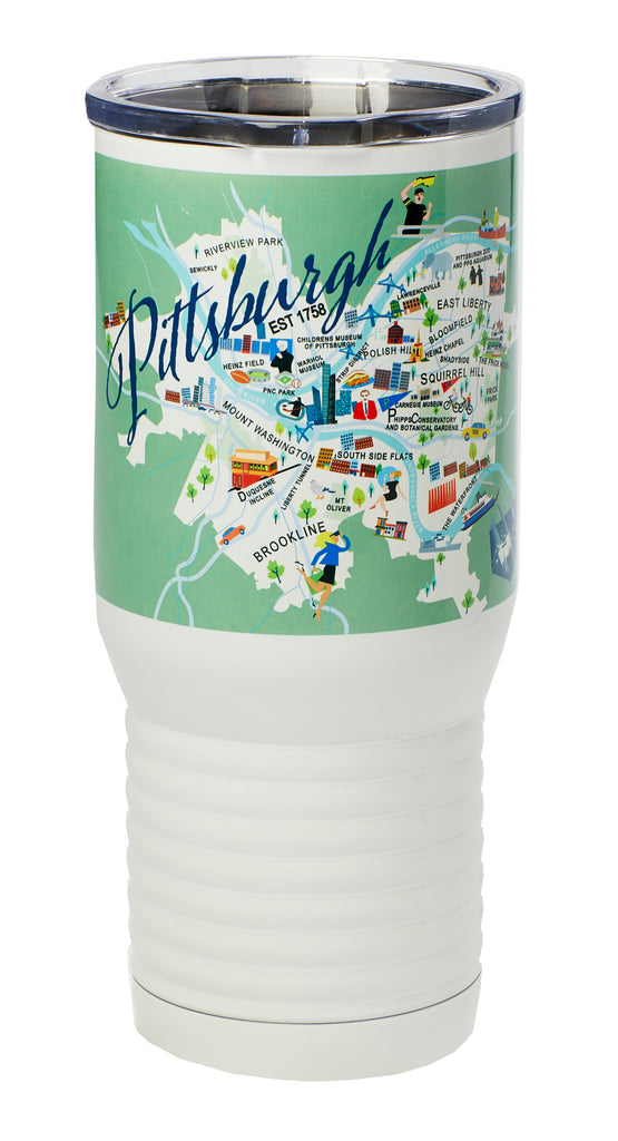 Pittsburgh 20-oz. Stainless Steel Tumbler