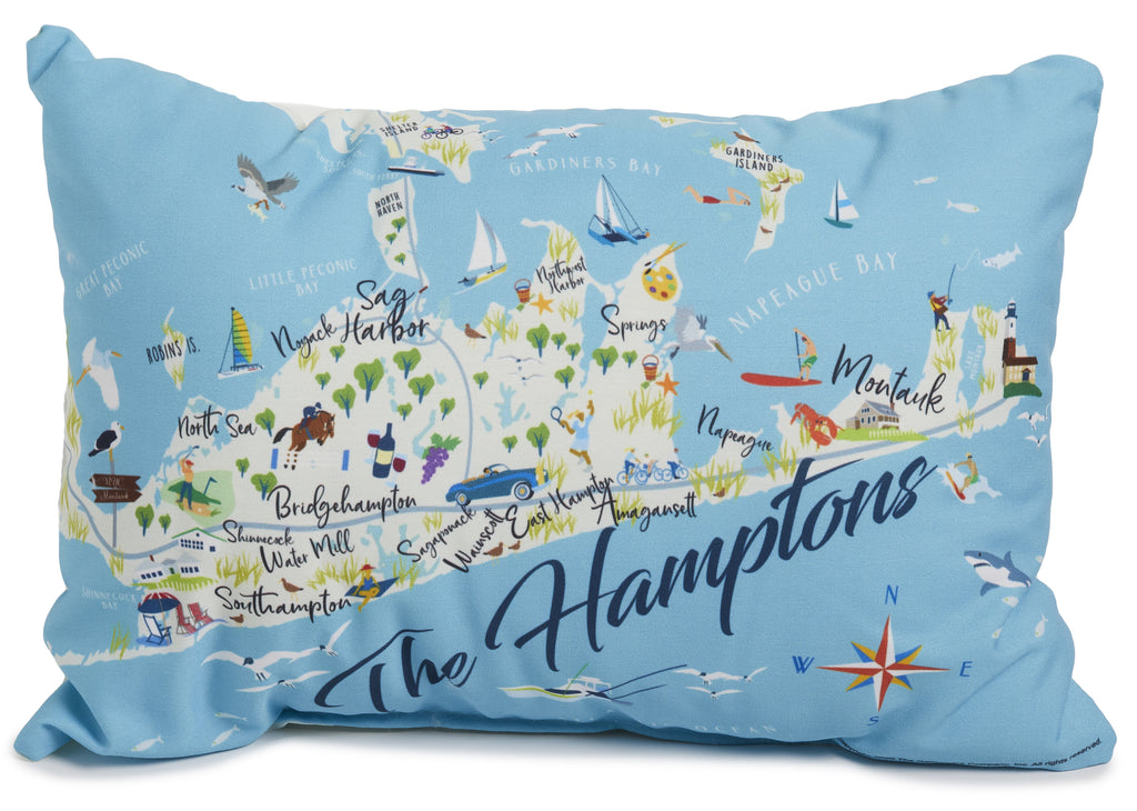 "The Hamptons - 14"" Lumbar Pillow"