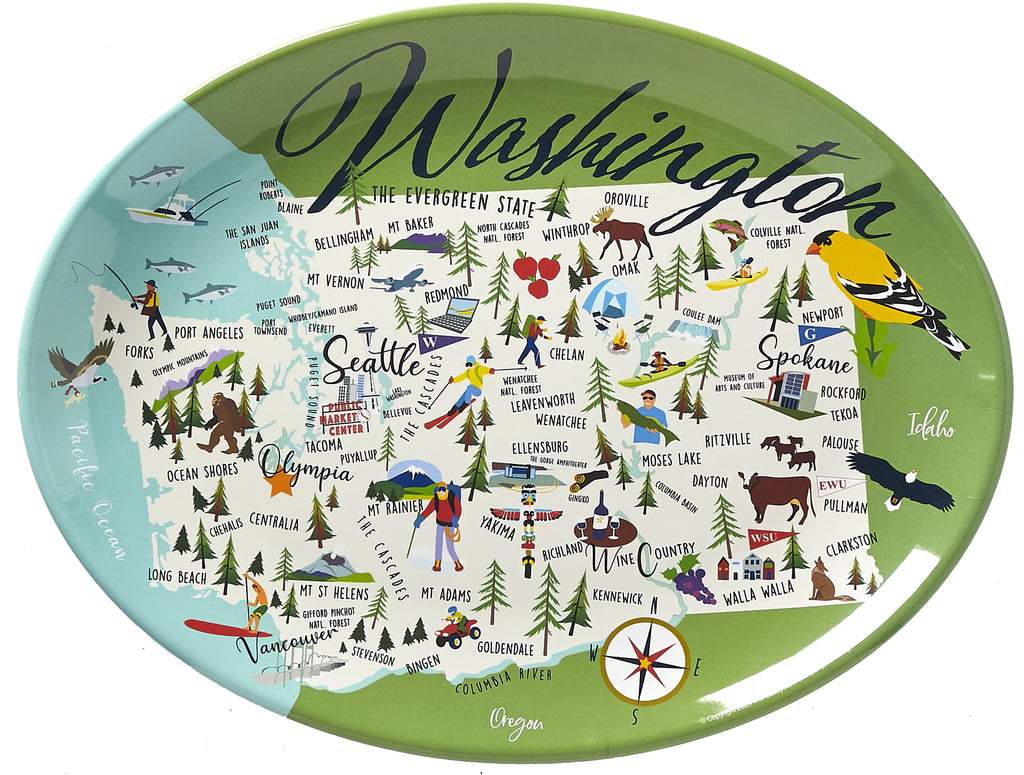 "Washington - 16"" Platter"