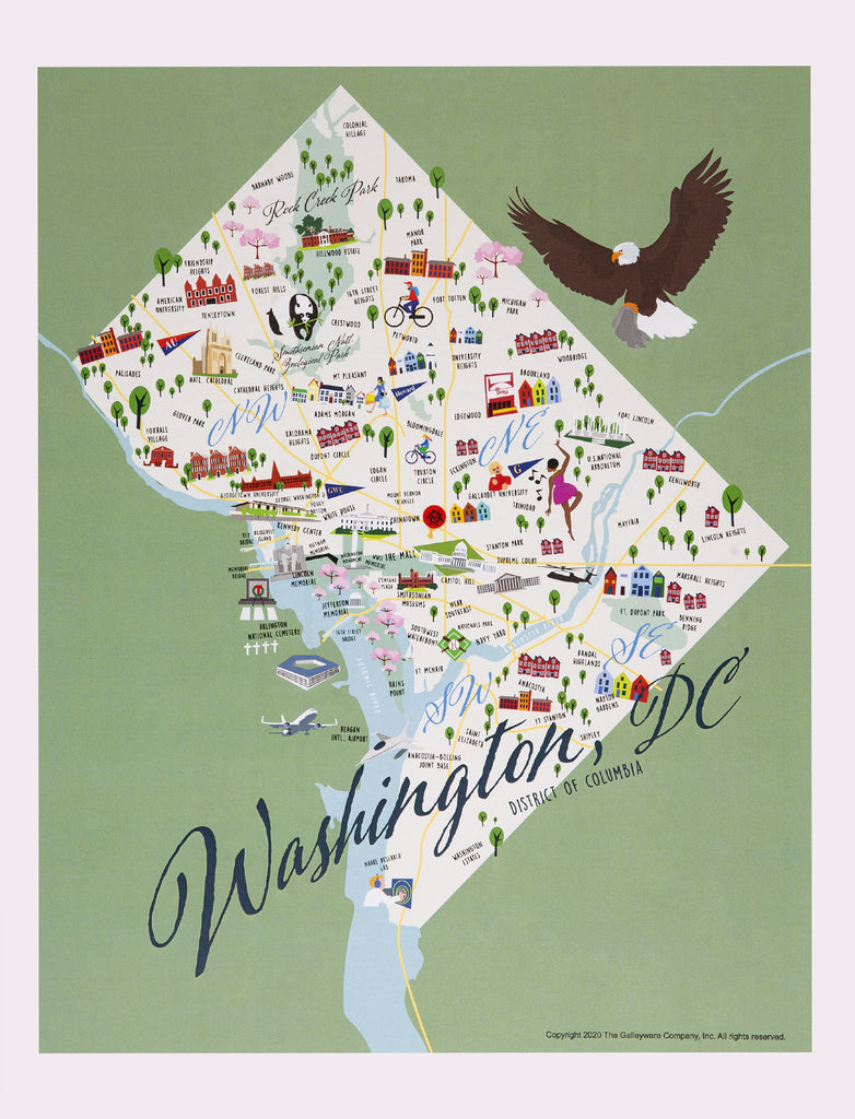Washington, DC  - Print