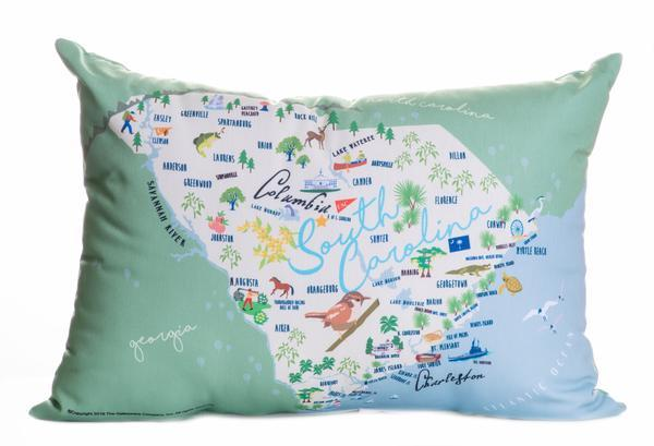 "South Carolina - 14"" Lumbar Pillow"