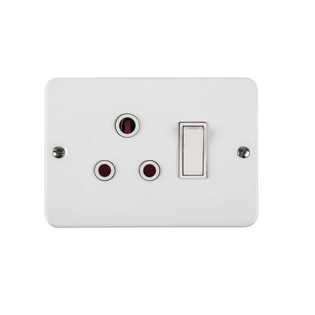 Redisson Single Industrial Switched socket