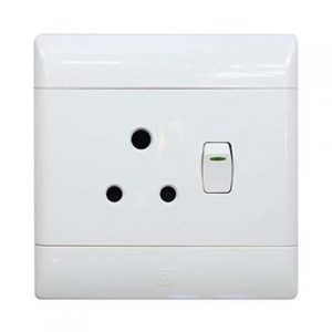 ELECTRICAL CONDERE 4 X 2 SINGLE SOCKET