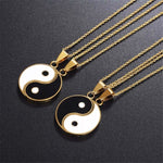2 Pcs Set Yin Yang Pendant - thesalelocker.com