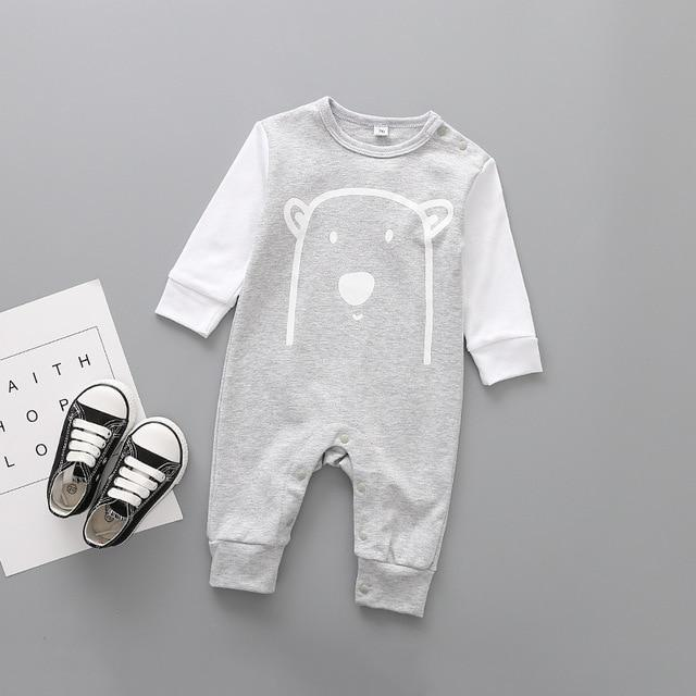2020 Cute Animals Baby Bear Romper - thesalelocker.com