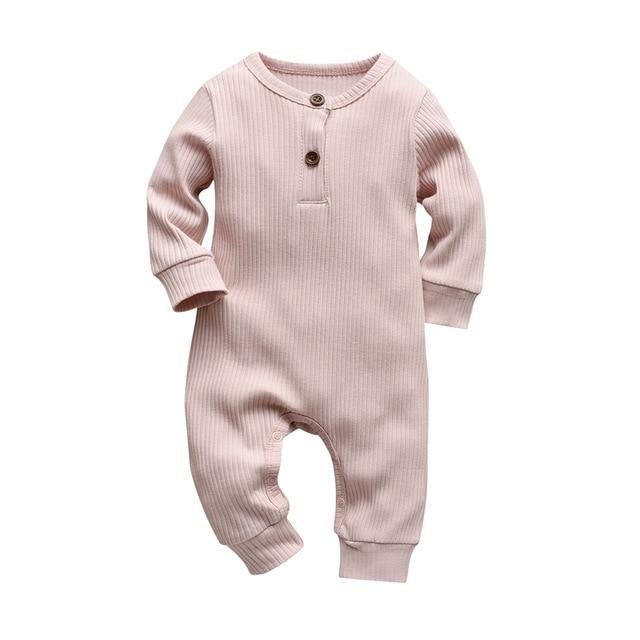 Baby Boy & Girl 100% Soft Cotton Long Sleeve Romper-thesalelocker.com