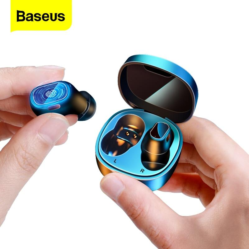 Baseus Wireless Headphones Mini Bluetooth Ear Buds - thesalelocker.com