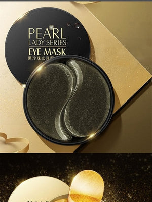 Black Pearl Moisturizing Gel Eye patches 60 Piece Set-thesalelocker.com