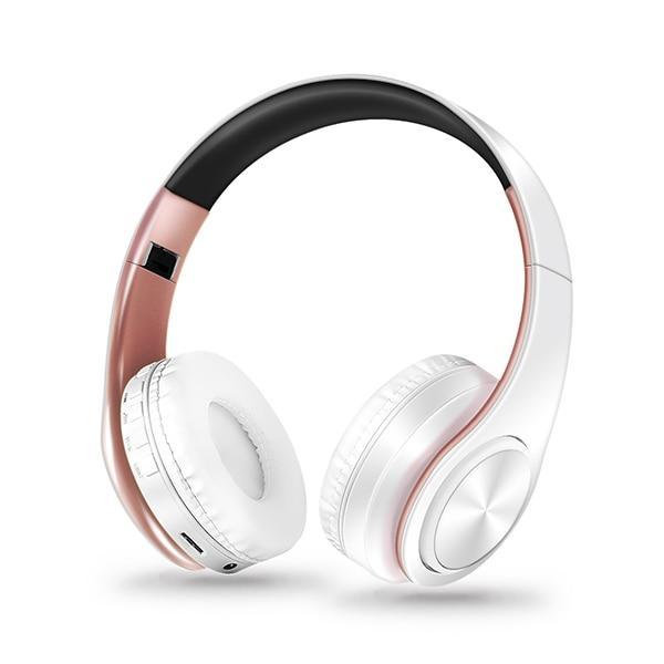 Bluetooth Headphones Soft Leather With Built-in Mic for PC/Cell Phones/TV - thesalelocker.com