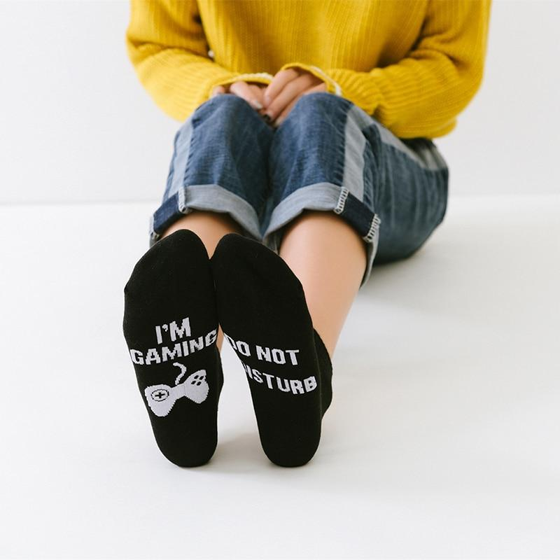 DO NOT DISTURB I`M GAMING Socks - thesalelocker.com