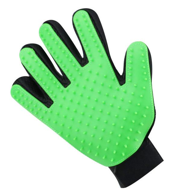 Dog And Cat Pet Grooming Glove - thesalelocker.com