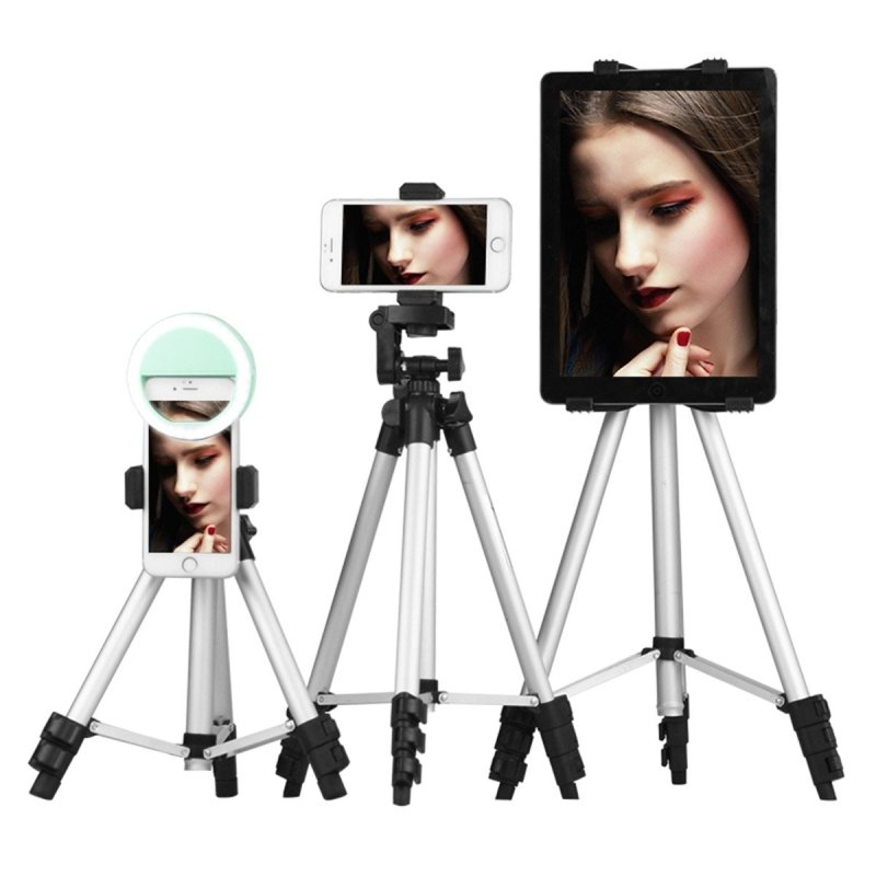 Extendable 14-39 inch Adjustable Tripod Stand Mount Phone Camera-thesalelocker.com