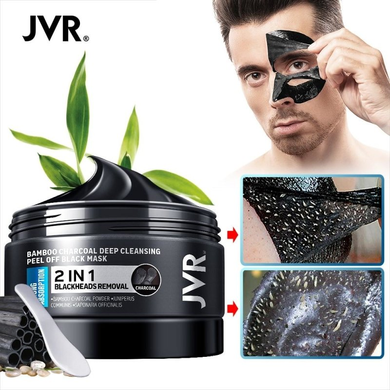 JVR Bamboo Charcoal Facial Mask-thesalelocker.com