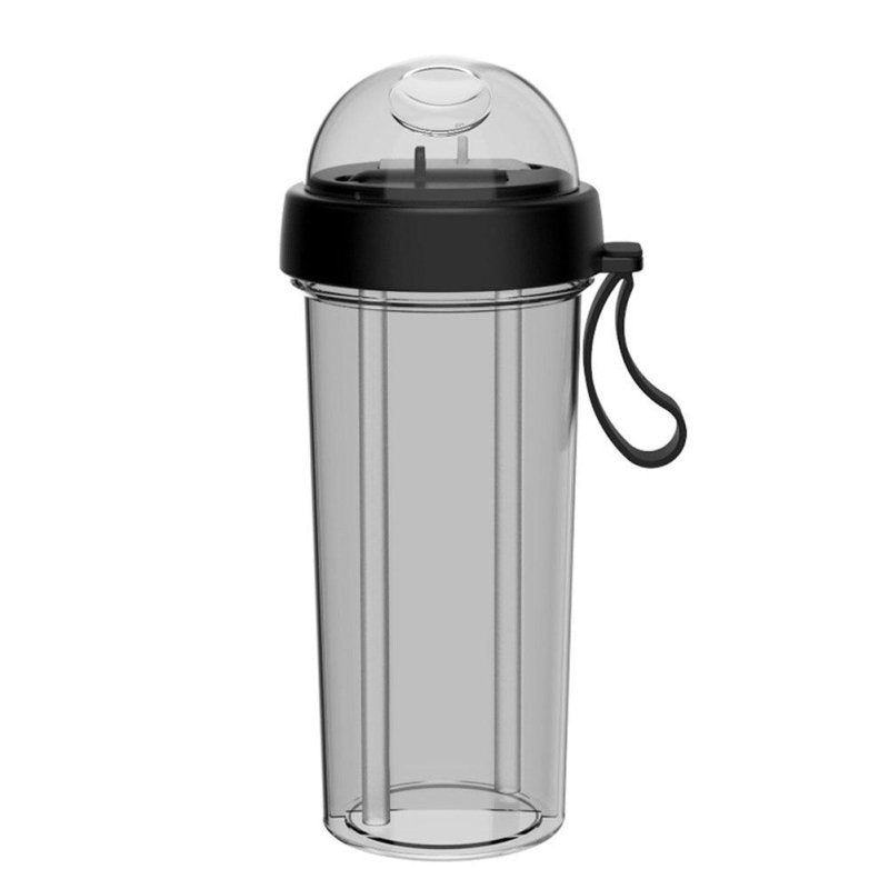 New! Portable Dual Straw Water Bottle-thesalelocker.com