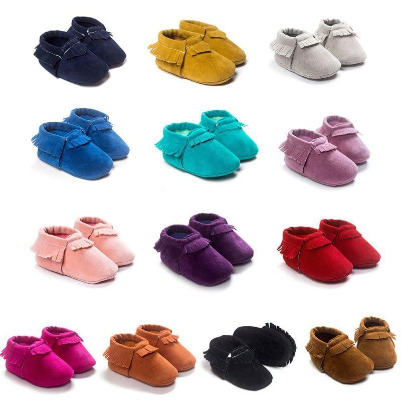 Newborn And Toddler Soft Sole Velvet Baby Moccasins-thesalelocker.com