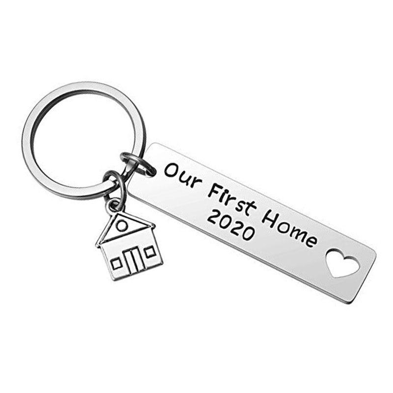 Our First Home 2020 Keychain - thesalelocker.com