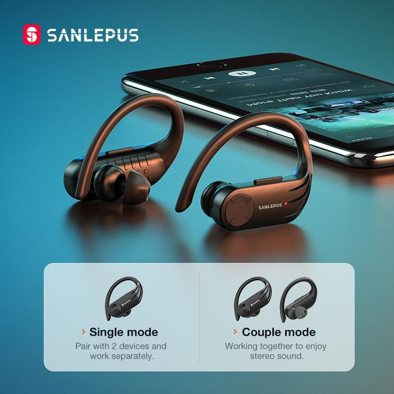 SANLEPUS B1 Led Display Bluetooth Wireless Headphones - thesalelocker.com