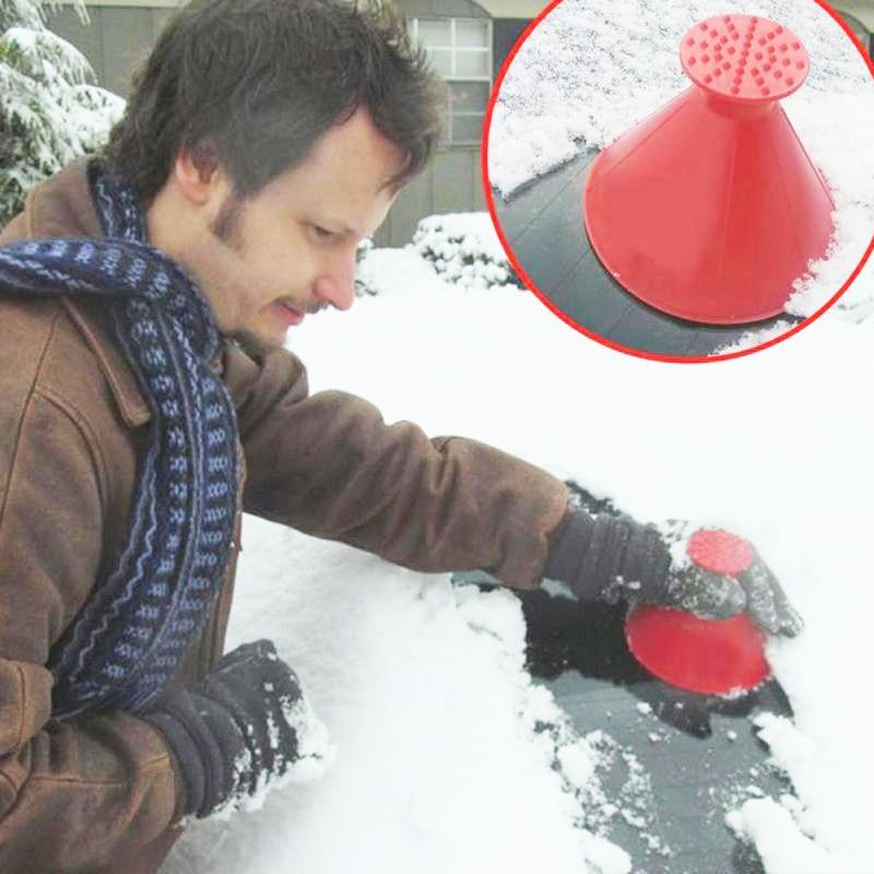 Scrape-A-Round Windshield Ice Scraper-thesalelocker.com