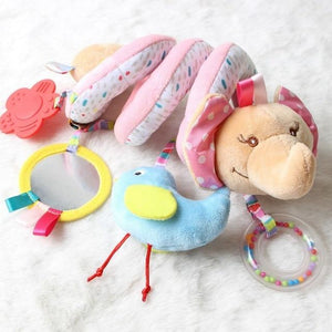 Soft Infant Spiral Rattle Toy-thesalelocker.com