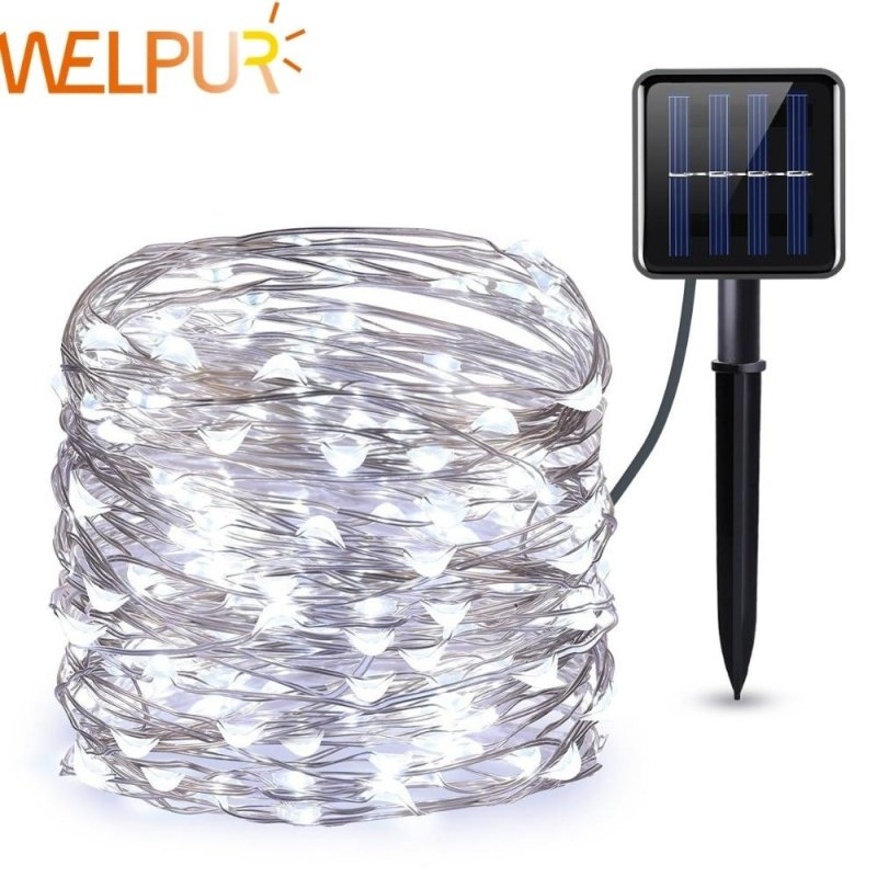 Solar String Outdoor Christmas Lights-thesalelocker.com