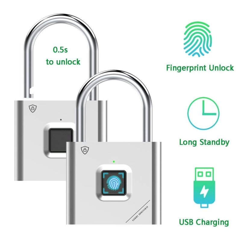 Thumbprint Padlock - thesalelocker.com