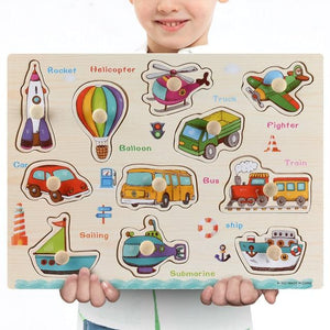 Wooden Puzzle Boards Educational Toy-thesalelocker.com