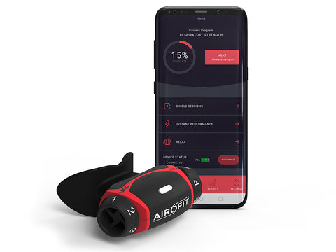 Airofit Breathing Trainer & Personal Coaching