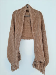 Brown Maxi Scarf
