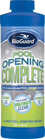 BioGuard Pool Opening Complete