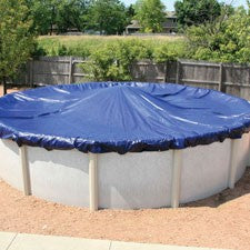 Above Ground Round Tarp-Type Pool Cover