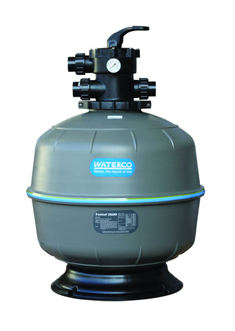 "Waterco ExoTuf T-600 24"" Filter w/1 1/2"" Valve"