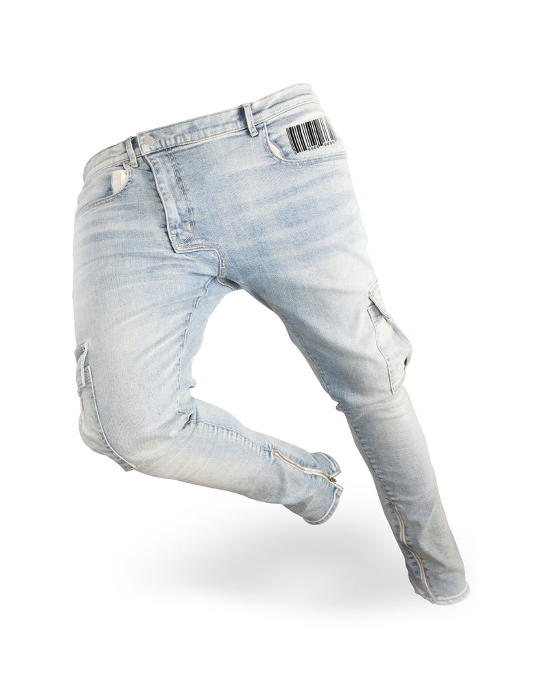 OFF CENTER FLY JEAN