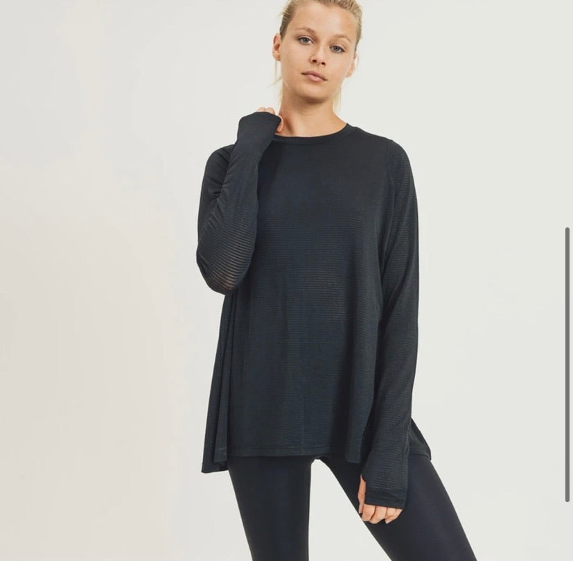 Everyday cut-out long sleeve