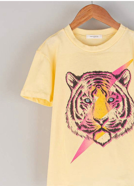 Lightening Tiger Tee - Kids