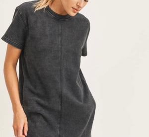 Mineral Wash Tennis Dress